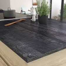 plan de travail cuisine stratifié leroy merlin plan de travail stratifié vintage wood noir mat l 315 x p 65 cm