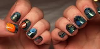 galaxy nails literally the nailasaurus uk nail art blog