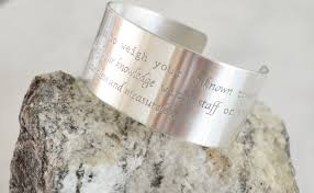 sterling silver engravable jewelry handmade sterling silver customize engraved bracelet