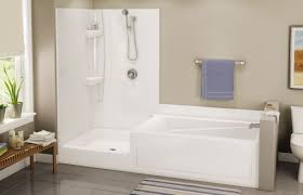 Shower And Tub Combo For Small Bathrooms Bathtubs Winsome Corner Bath Shower Combo 114 Mediterranean