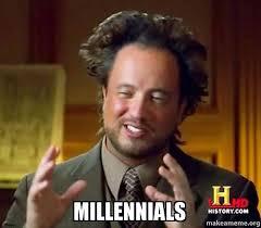 Make A Meme Aliens - millennials ancient aliens crazy history channel guy make a meme