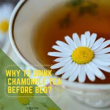 Seeking Tea Why To Drink Chamomile Tea Before Bed Tassyam