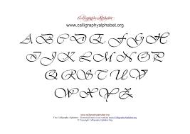 pdf calligraphy alphabet charts to print calligraphy alphabet