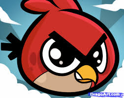 learn draw chibi angry bird video game characters pop