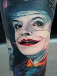 amazing joker face tattoo ideas toycyte