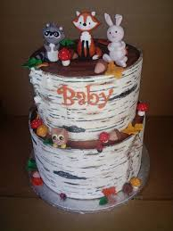 woodland creature baby shower woodland creatures baby shower cakecentral