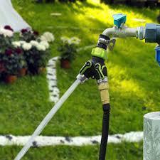 amazon com victsing 2 way y hose connector splitter metal body