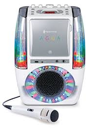 singing machine with disco lights amazon com singing machine sml605w agua dancing water fountain