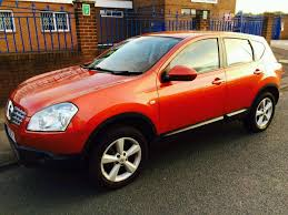 nissan orange nissan qashqai 1 5dci 2009 burnt orange colour credit cards