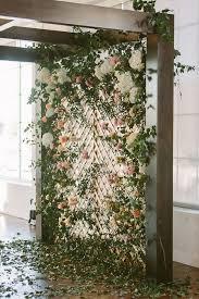 wedding backdrop ideas 10 brilliant flower wall wedding backdrops for 2018 chic wedding
