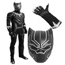 Black Panther Marvel Halloween Costume Child U0027s Marvel Captain America Civil War Black Panther Gloves