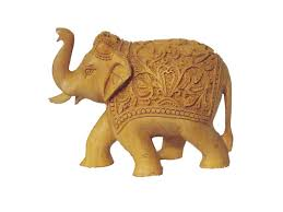 collectible trunk up elephants on different media craft montaz