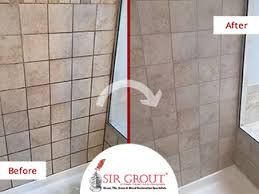 amazing mold removal during a grout sealing service gave a new