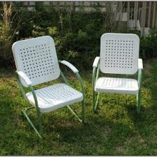 Old Metal Patio Furniture Retro Metal Outdoor Furniture Chairs Home Decorating Ideas Hash