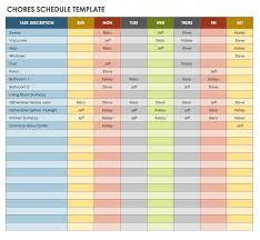 28 free time management worksheets smartsheettime schedule