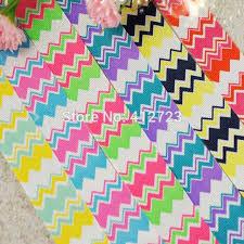 bow supplies chevron color ribbon christmas party decoration ribbons sewing diy
