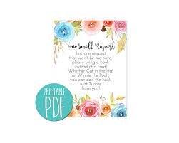 Baby Shower Instead Of A Card Bring A Book Invitation Suite U2013 Tiny Whiney