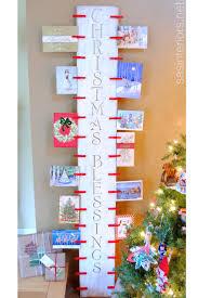 christmas card holder 14 diy christmas card holder ideas how to display christmas cards