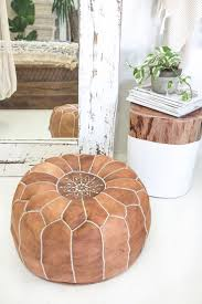 best 25 moroccan pouf ideas on pinterest poufs leather ottoman
