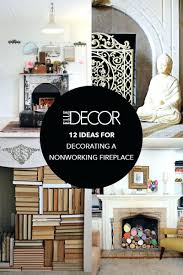 decorating ideas for nonworking fireplace design living room decor