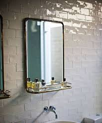 brass bathroom mirror brass bathroom google search bathrooms pinterest bathroom
