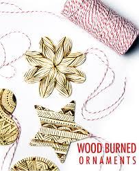 alisaburke wood burned ornaments