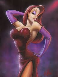 jessica rabbit who framed roger rabbit james mulligan who framed roger rabbit in red jessica