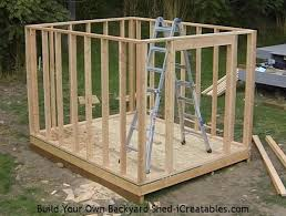 Free Plans For Building A Wood Shed by How To Build A Shed Storage Shed Building Instructions