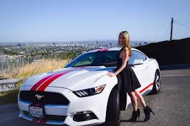 2015 mustang modified mustang monday miriam estrada has puppy love for her 2015