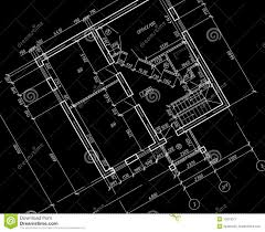architectural drawing blueprint draw floor plan step 5
