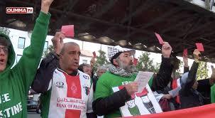 siege de la fff manifestation pro palestinienne devant le siège de la