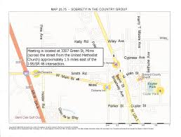 Coco Beach Florida Map by Aa Space Coast Brevard Intergroup Inc