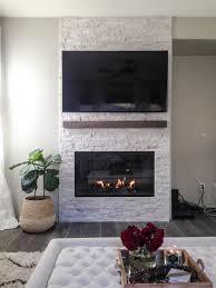 stone fireplace u0026 diy mantle la vie est belle design
