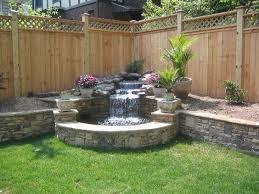 Waterfall For Backyard by Best 25 Outdoor Water Features Ideas On Pinterest Garden Water