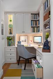 Built In Corner Desk Home Design Built In Desk With Wood Flooring And Corner Desk Also