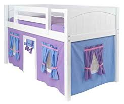 Bunk Bed Attachments Childrens Curtain W Adhesive Velcro Attachments For