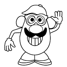 dessin monsieur patate a colorier coloriage pinterest busy