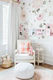 amazing wall organization with rose wallpaper for a romantic flair