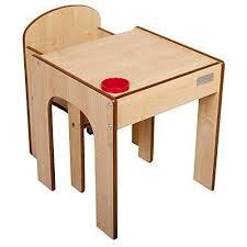 bureau bébé bois helper en semble bureau et chaise en bois pour enfants avec