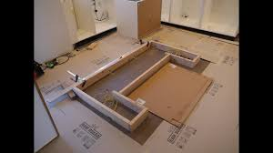installing a kitchen island ikea kitchen and custom island installation
