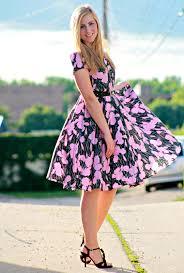 floral dresses vintage floral dress s lookbook