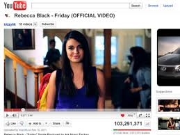 friday rebecca black top viral videos of the week rebecca black is still sitting in