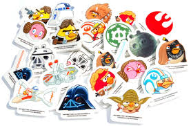 amazon com star wars angry birds erasers collection set of 24