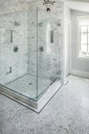 Bathroom Tile Ideas White Carrara by Carrara Marble Bathroom Carrara Marble Herringbone Bathroom