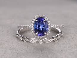 promise ring vs engagement ring 1 28ctw oval tanzanite engagement ring vs promise ring 14k
