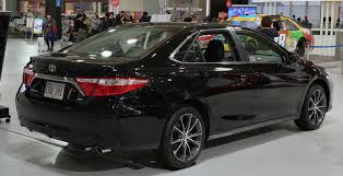toyota camry 2015 file 2015 toyota camry xse rear jpg wikimedia commons