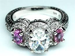 black and purple engagement rings light purple engagement rings svapop wedding fashionable