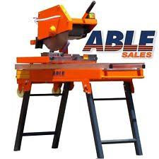 Masonry Saw Bench For Sale Industrial Brick Saws Ebay