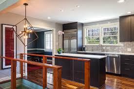 modern style home remodel dam fine carpentry