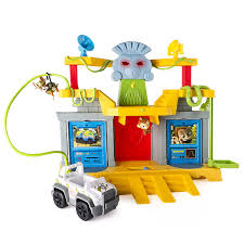 amazon paw patrol monkey temple playset toys u0026 games